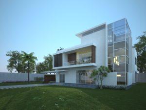геометрию здания